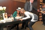 """Thalia Signs Copies Of """"Growing Stronger"""""""