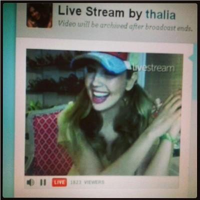 Thalia5Twitcam